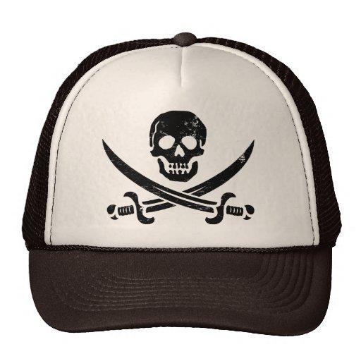 John Rackham (Calico Jack) Pirate Flag Jolly Roger Hat