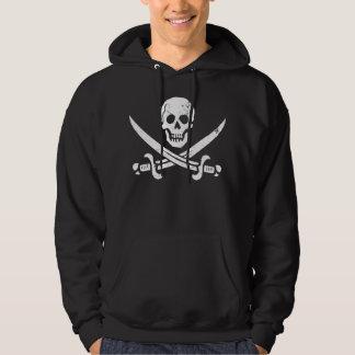 John Rackham (Calico Jack) Pirate Flag Jolly Roger Hoodie