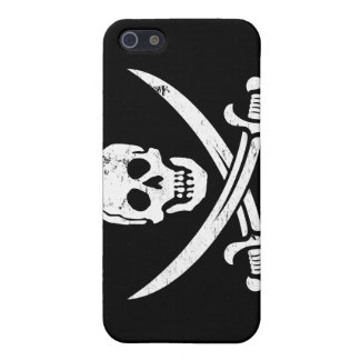 John Rackham (Calico Jack) Pirate Flag Jolly Roger Cover For iPhone 5