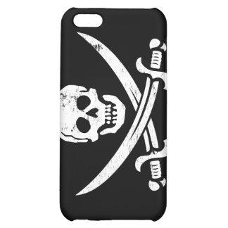 John Rackham (Calico Jack) Pirate Flag Jolly Roger iPhone 5C Case