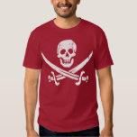 John Rackham (Calico Jack) Pirate Flag Jolly Roger T-shirts