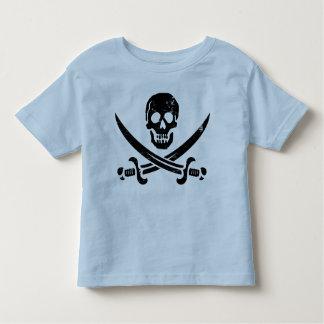 John Rackham (Calico Jack) Pirate Flag Jolly Roger Toddler T-shirt