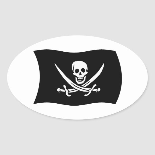 John Rackham Flag Sticker