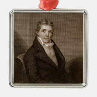 John Randolph (1773-1833) engraved by Thomas B. We Metal Ornament