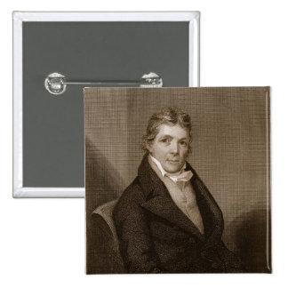 John Randolph (1773-1833) engraved by Thomas B. We Pinback Button