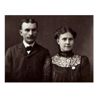 John & Rebecca (ZARFOS) Buckingham Postcard