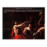 John Rebuked Herod Postcard