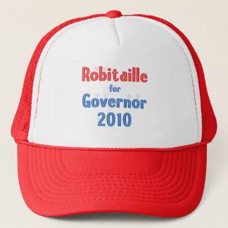 John Robitaille for Governor 2010 Star Design Trucker Hat