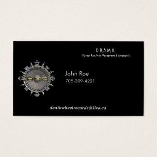 John Roe Biz card