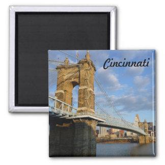 John Roebling Bridge Cincinnati Photo Magnet