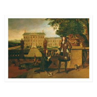 John Rose (c.1621-77) the King's Gardener, present Postcard