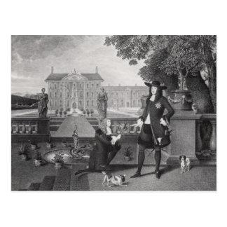 John Rose  the King's Gardener Postcard