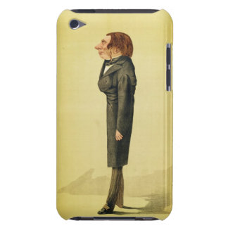 John Ruskin (1819-1900), caricature by Cecioni fro iPod Touch Case