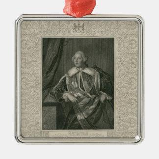 John Russell, Duke of Bedford Metal Ornament