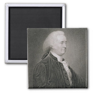 John Rutledge (1739-1800), engraved by G.F. Storm 2 Inch Square Magnet