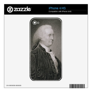 John Rutledge (1739-1800), engraved by G.F. Storm Decal For iPhone 4