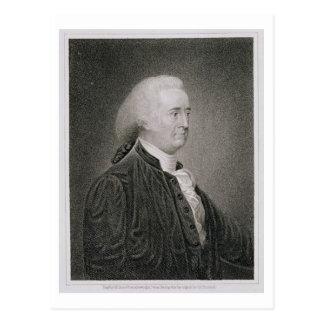 John Rutledge (1739-1800), engraved by G.F. Storm Postcard