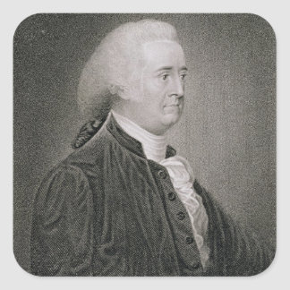 John Rutledge (1739-1800), engraved by G.F. Storm Square Sticker