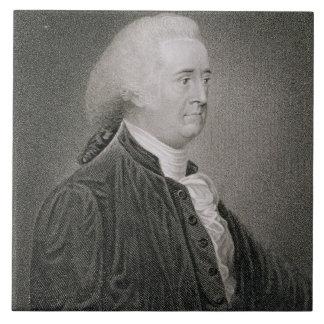 John Rutledge (1739-1800), engraved by G.F. Storm Tile