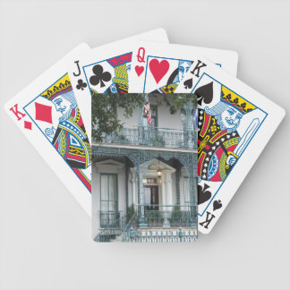 John Rutledge House Inn, Charleston SC Cards Bicycle Playing Cards