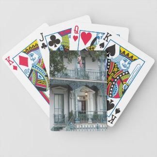 John Rutledge House Inn, Charleston SC Cards Bicycle Poker Deck
