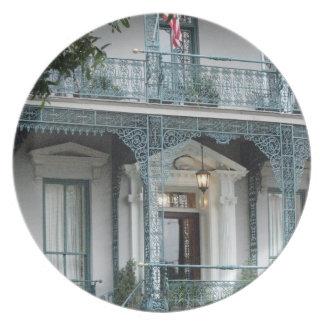John Rutledge House Inn, Charleston SC Plate