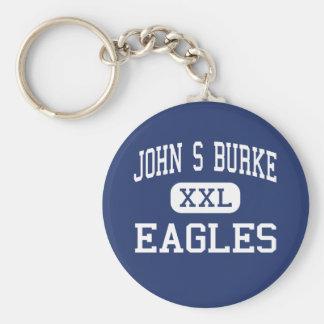 John S Burke - Eagles - Catholic - Goshen New York Keychain