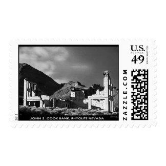 John S. Cook Bank R334 Stamp