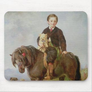 John Samuel Bradford as a boy Mousepad