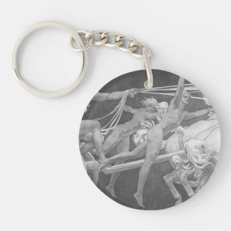 John Sargent- Apollo in His Chariot with the Hours Acrylic Key Chain
