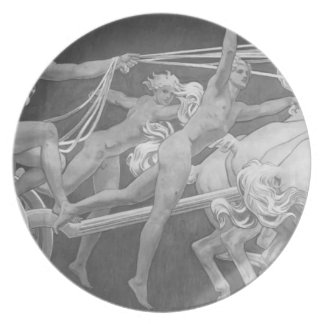 John Sargent- Apollo in His Chariot with the Hours Party Plates