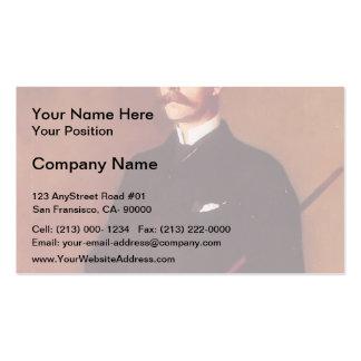 John Sargent- Brigadier Archibald Campbell Douglas Business Card