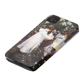 John Sargent: Carnation, Lily, Rose iPhone 4 Case