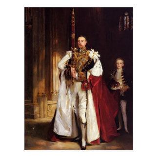 John Sargent- Charles Stewart Sixth Marquess Postcard