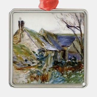 John Sargent- Cottage at Fairford, Gloucestershire Christmas Tree Ornaments