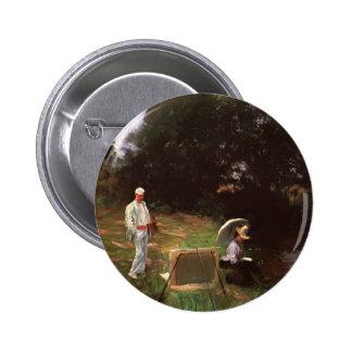 John Sargent- Dennis Miller Bunker Painting Buttons