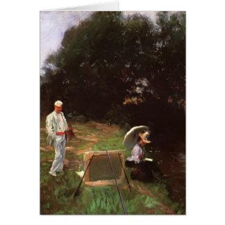 John Sargent- Dennis Miller Bunker Painting Greeting Card