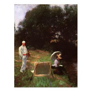 John Sargent- Dennis Miller Bunker Painting Postcard