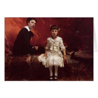 John Sargent- Edouard and Marie Louise Pailleron Greeting Card
