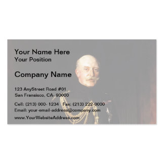 John Sargent-Fiield Marshall,the Duke of Connaught Double-Sided Standard Business Cards (Pack Of 100)