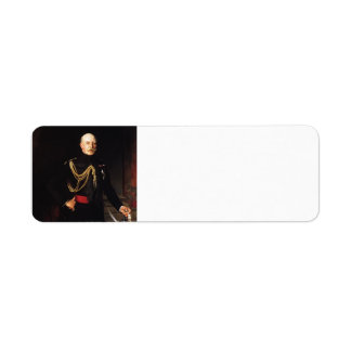 John Sargent-Fiield Marshall,the Duke of Connaught Return Address Label
