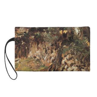 John Sargent- Girls Gathering Blossoms, Valdemosa Wristlet