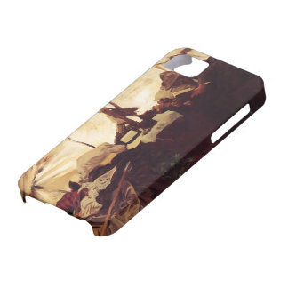 John Sargent- Inside Tent in the Canadian Rockies iPhone 5 Cover