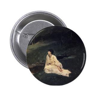 John Sargent- Judith Gautier Pinback Button