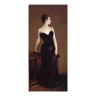 John Sargent- Madame Pierre Gautreau Personalized Rack Card