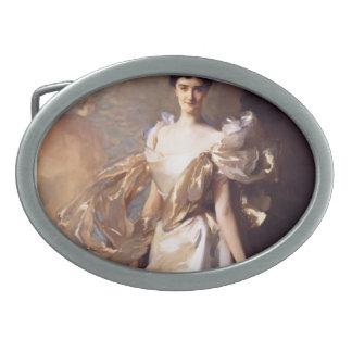 John Sargent-Margaret Hyde,19th Suffolk Countess Oval Belt Buckle