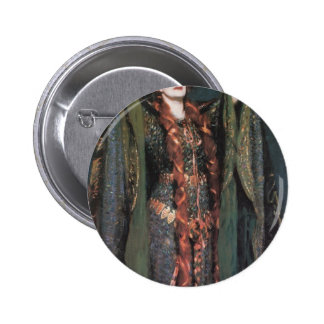 John Sargent- Miss Ellen Terry as Lady Macbeth Pinback Buttons