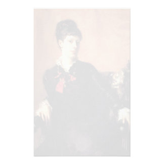 John Sargent- Miss Frances Sherborne Ridley Watts Customized Stationery