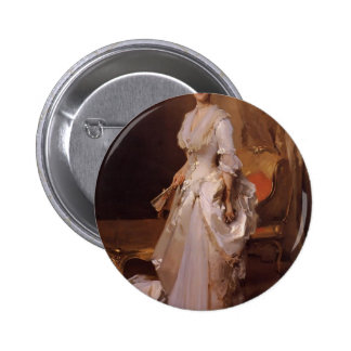 John Sargent- Mrs. Henry White Pinback Buttons