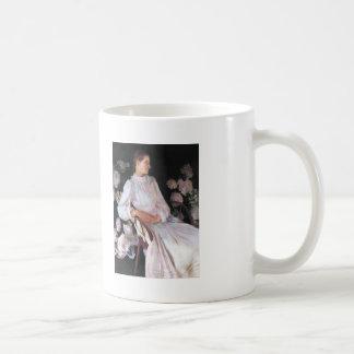 John Sargent- Portrait of Katharine Shapleigh Classic White Coffee Mug